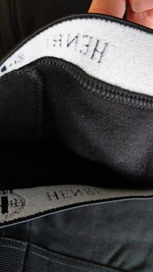 Kokvilnas bikses ar siltinājumu HENRI