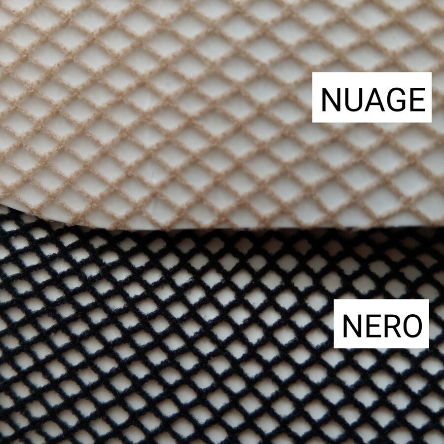 Pusgarās zeķes no smalka tīkliņa C322 MURA